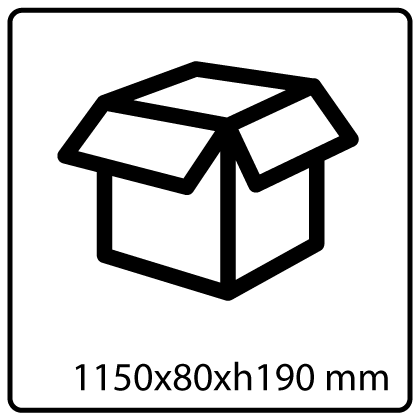190x1150x80